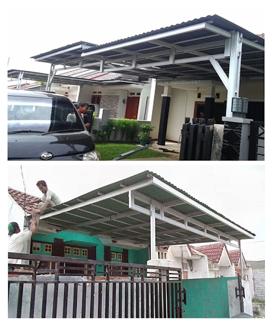 Kanopi Baja Ringan Bogor Kota Jawa Barat 0812 8343 4522