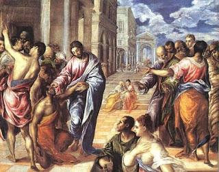 Nomes bíblicos de menino: letra B (Imagem: A Cura de Bartimeu - El Greco)
