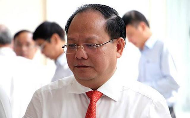 Ông Tất Thành Cang – Phó bí thư Thành ủy TP.HCM