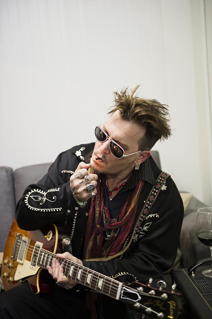 Johnny Depp: Hollywood Vampires: Lisbon 2016 Photos ...
