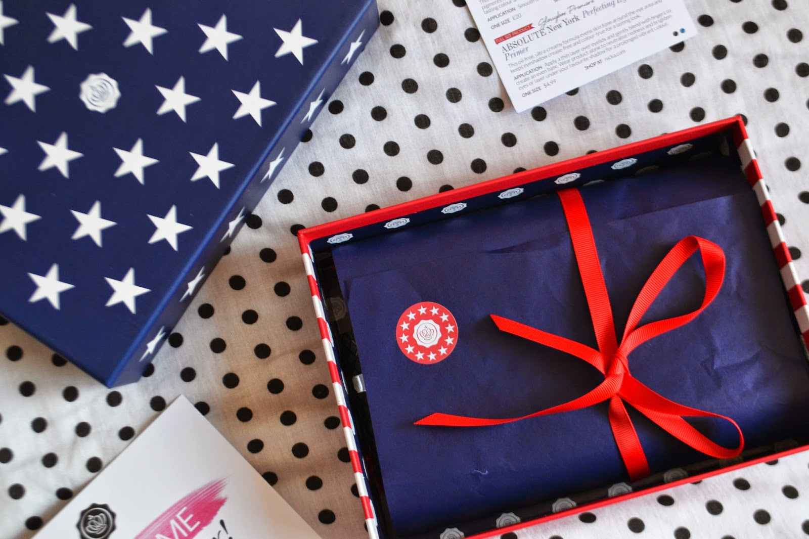 THE AMERICAN THEMED JULY GLOSSYBOX