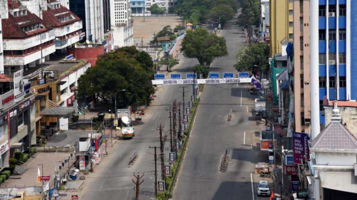 Kerala COVID-19 lockdown