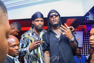 Ajebo Hustlers Set To Drop New Song With Burnaboy - Photos
