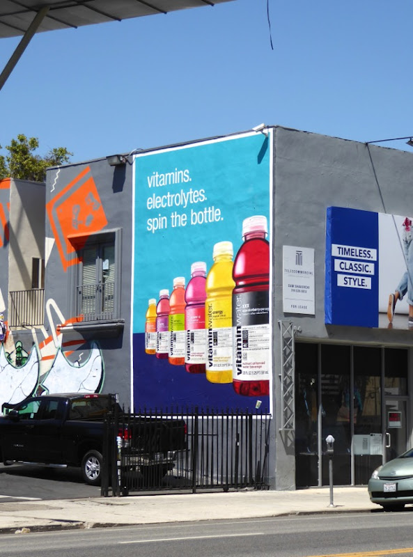 Vitamin Water Spin the bottle billboard