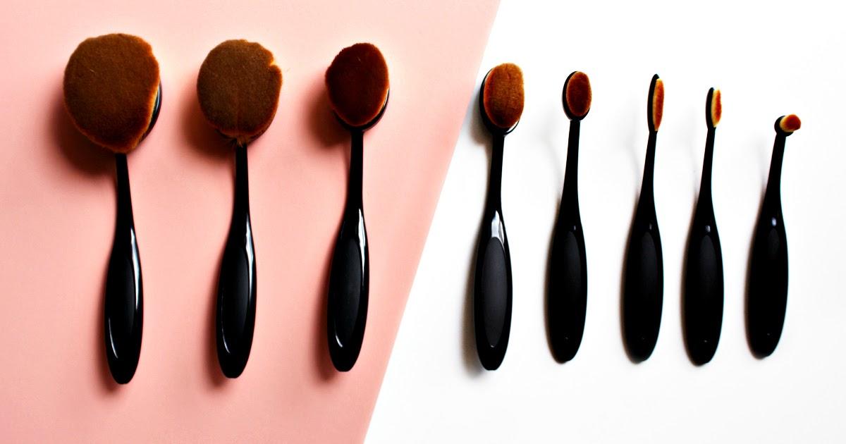 The best dupes for artis oval brushes lulu linden for Brush craft vs artis