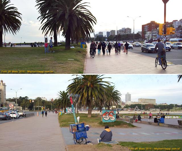 Ramblas da Playa Ramirez e Bairro Palermo | Montevidéu