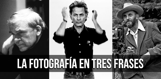 La Fotografía en tres frases