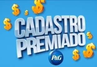 Promoção Cadastro Premiado P&G Participar Prêmios