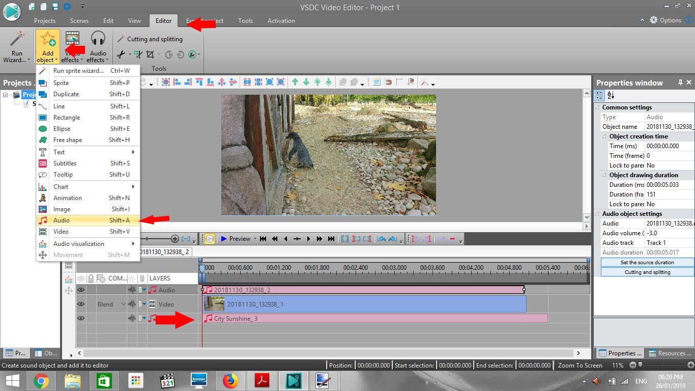 Mute Or Replace Audio in VSDC Free Video Editor - Excuse My Tech