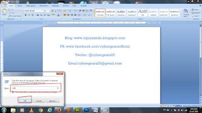 www.itguyinside.blogspot.com - www.facebook.com/cybergearsofficial