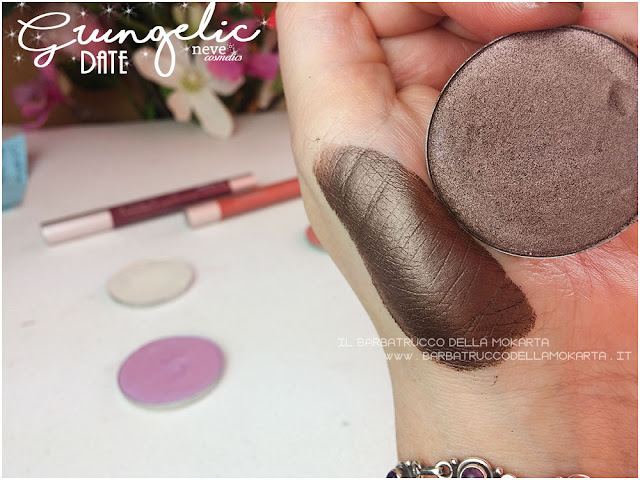 DATE swatches eyeshadow ombretti packaging Neve cosmetics  recensione, pareri, makeup, consigli, comparazioni