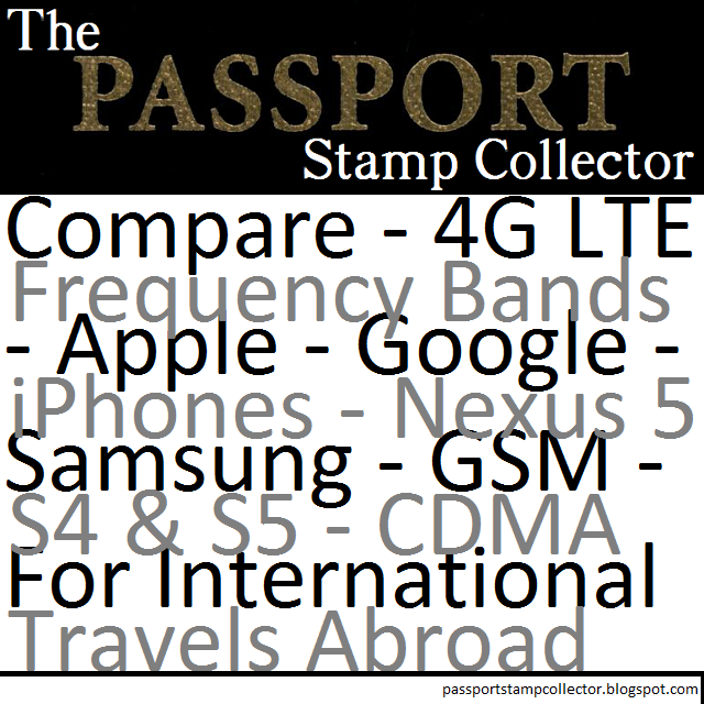 Staying Connected: International Phones (GSM, 4G-LTE, etc