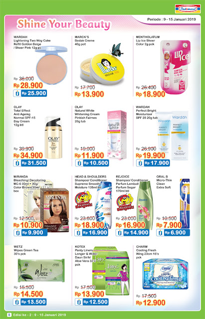 Katalog Promo Indomaret Super Hemat Terbaru 16 - 22 Januari 2019