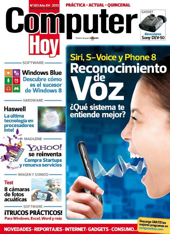 Revista computer hoy nro 383 siri s voice y phone 8 for Revista primicias ya hoy