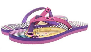 Barbie Girls Flip-Flops and House Slippers