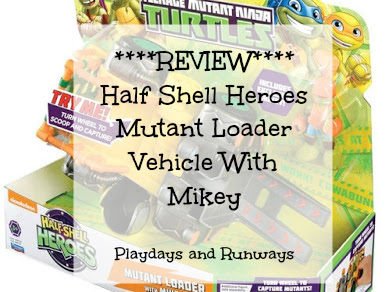 Half Shell Heroes Mutant Loader Vehicle With Mikey Review