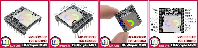 TUTORIAL DFPLAYER MINI MP3-TF-16P WIHT ARDUINNO OR STANDALONE