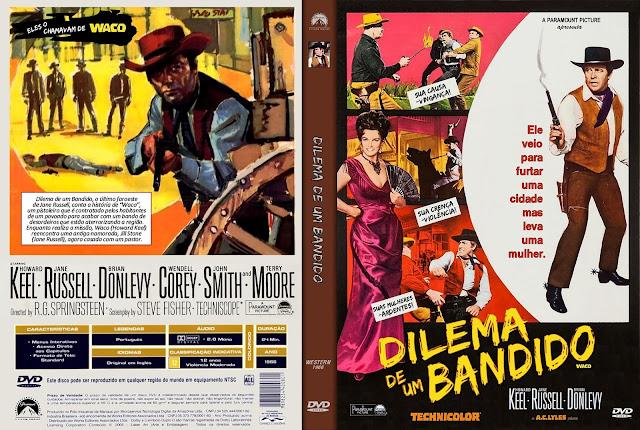 Capa DVD Dilema de um Bandido