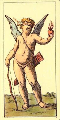 Tarot de Mitelli: Cupido