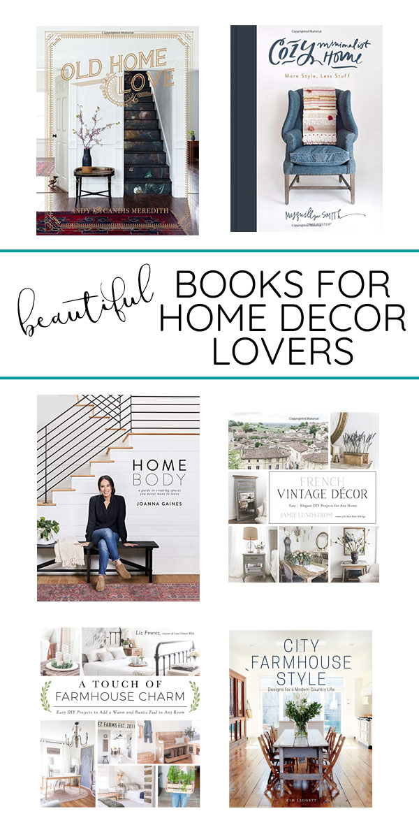 Coffee table books are the perfect gift idea for home decor lovers! These beautiful books are full of inspiring photos and are pretty enough for styling shelves or tables.