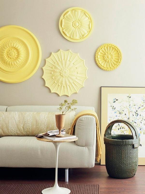 De lunes a domingo ideas para decorar con rosetones de - Decorar con escayola ...