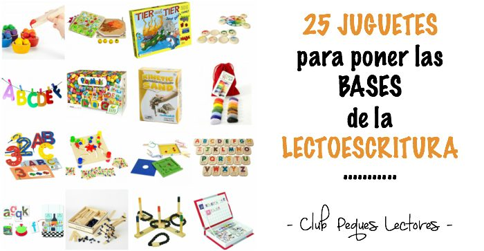juguetes y juegos para ayudar a aprender a leer y escribir, lectoescritura éxito