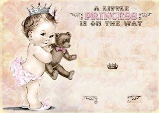 Para hacer Invitaciones, Marcos, Etiquetas o Tarjetas para Imprimir Gratis de Preciosa Bebé.