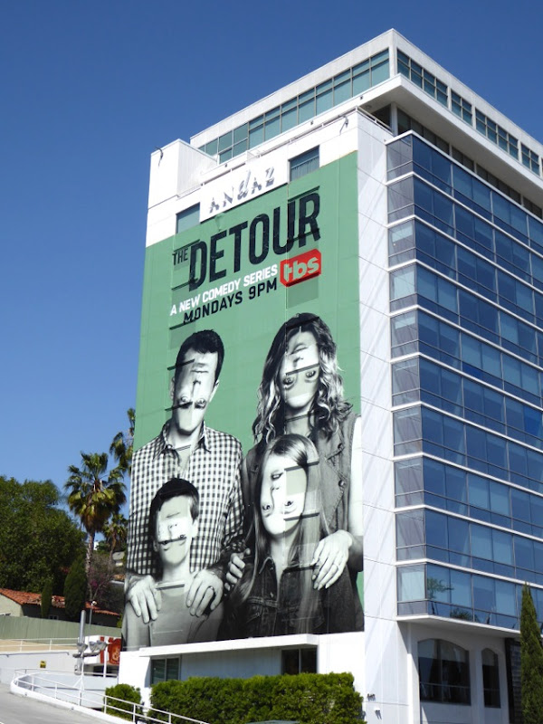 Detour TBS series billboard