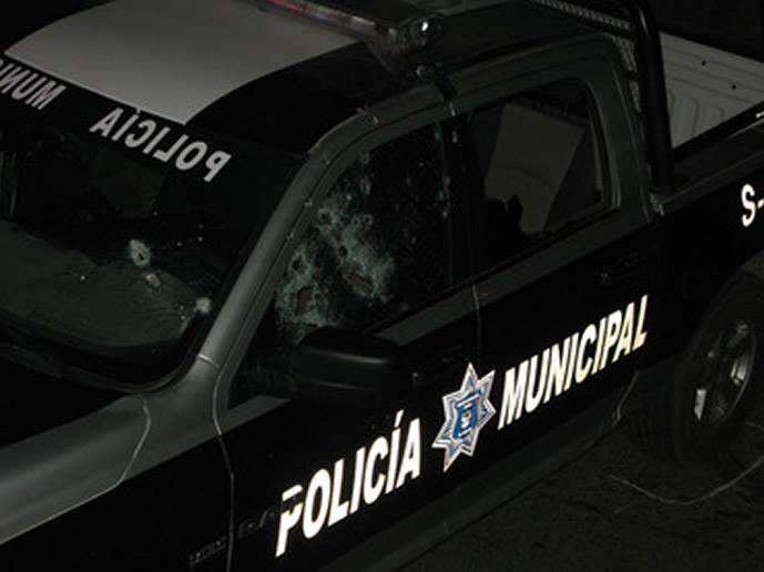 Zacatecas, Sicarios atacaron y balearon de lleno patrullas de Calera
