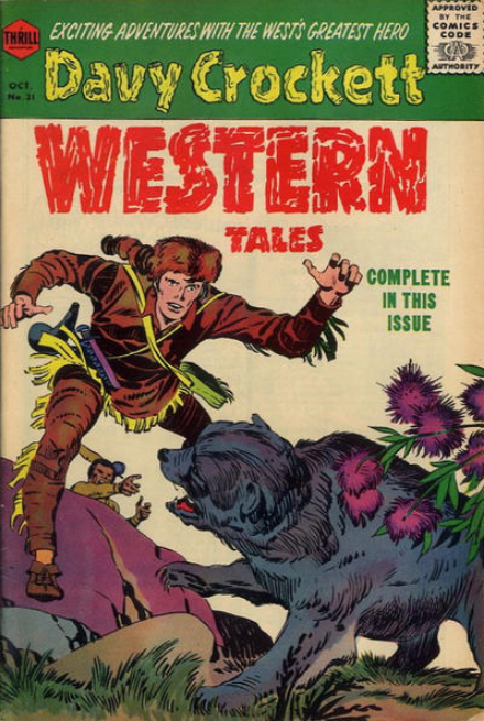 Kirby Western Tales Harvey Comics
