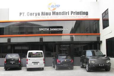 Lowongan Kerja Pekanbaru : PT. Cerya Riau Mandiri Printing Agustus 2017