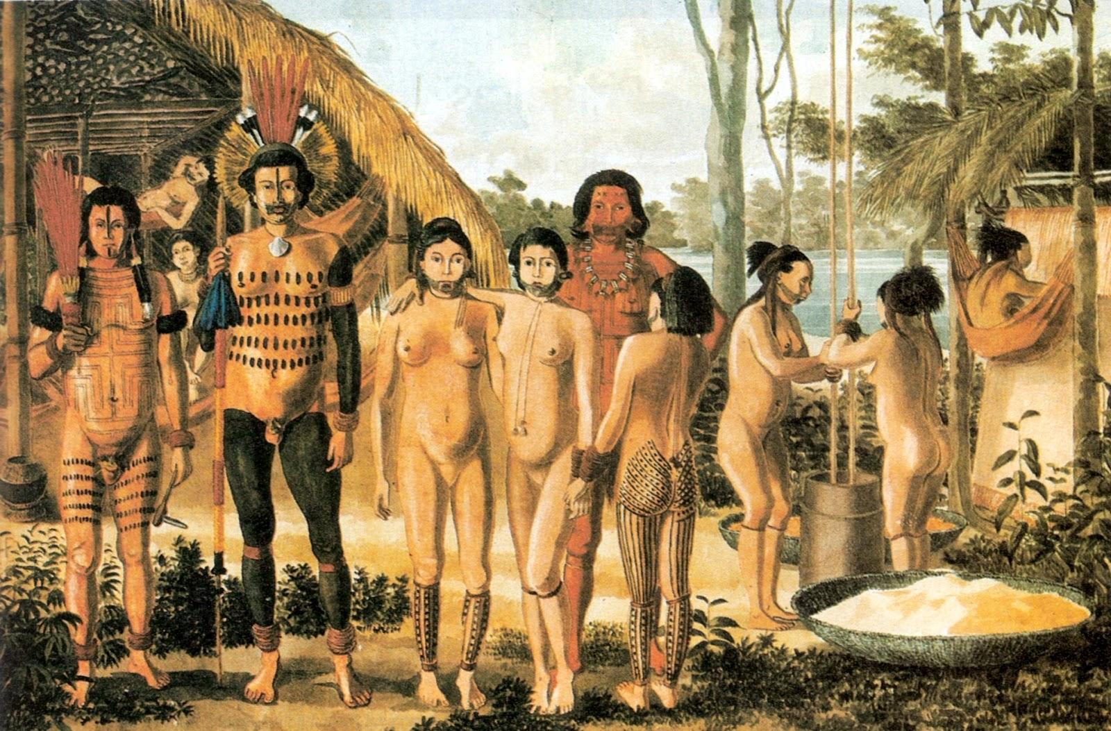 Índios no Período Colonial