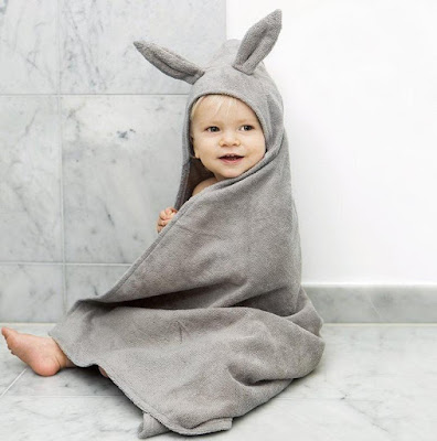 Rabbit Hooded Towel