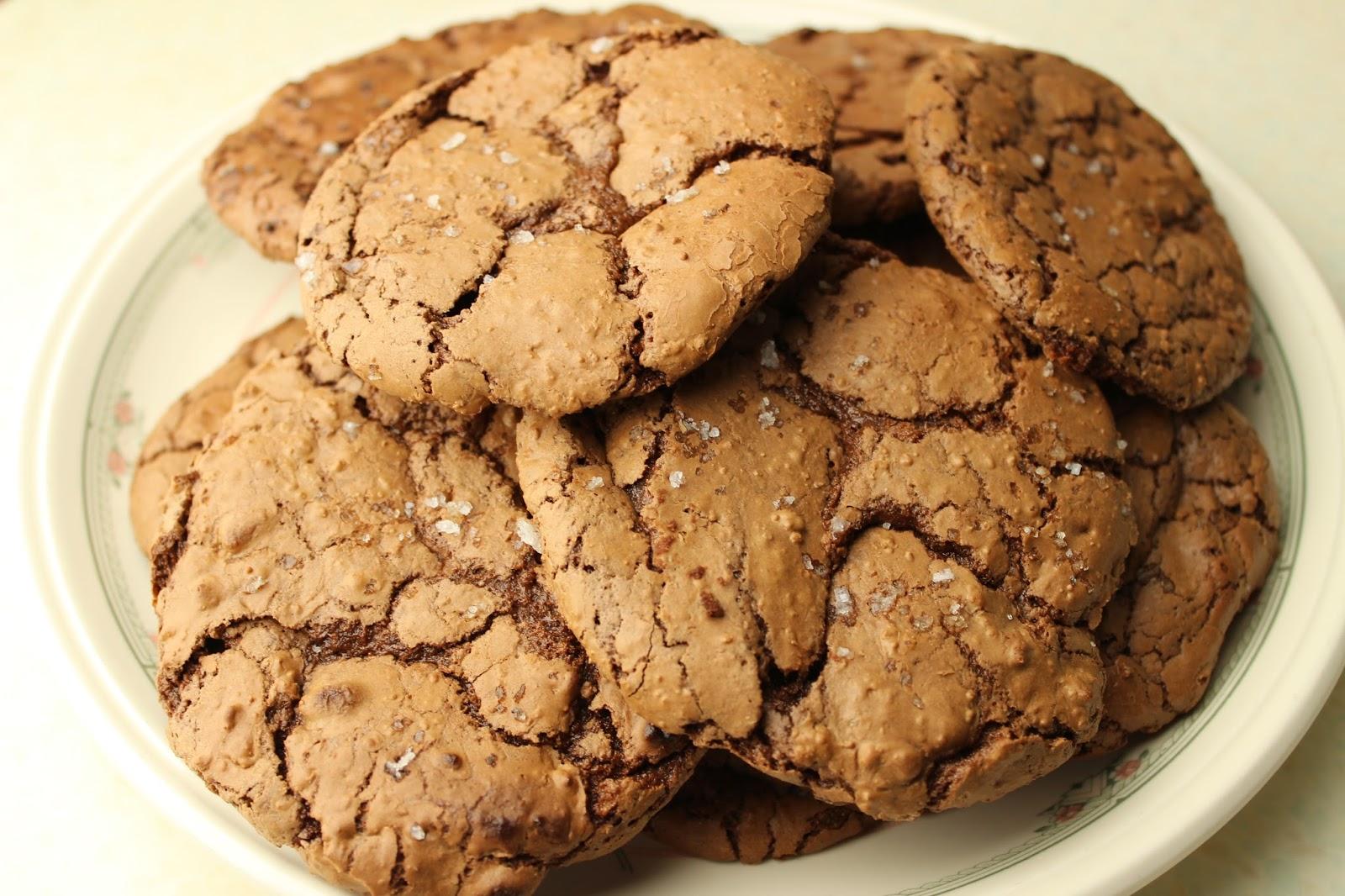 Salted Brownie Cookies Cupcake Jemma