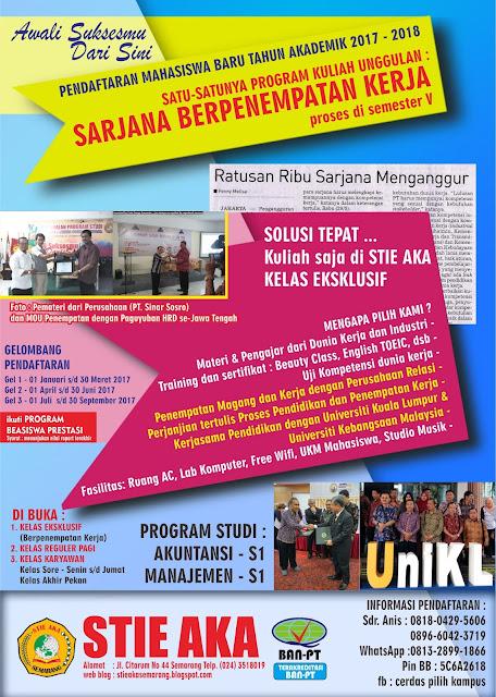 Info PMB PTS Semarang 2017, PMB PTS 2017, Info PTS Semarang