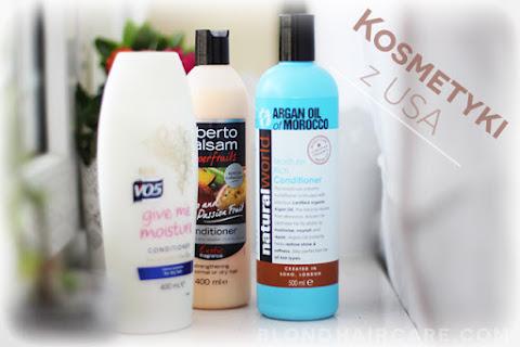 Dobre kosmetyki do włosów z USA - czytaj dalej »