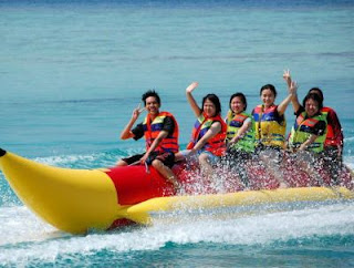 Kss Bali Tour Have Fun Banana Boat Bali