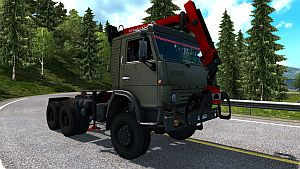 Kamaz 4410 fixed standalone truck for v1.22