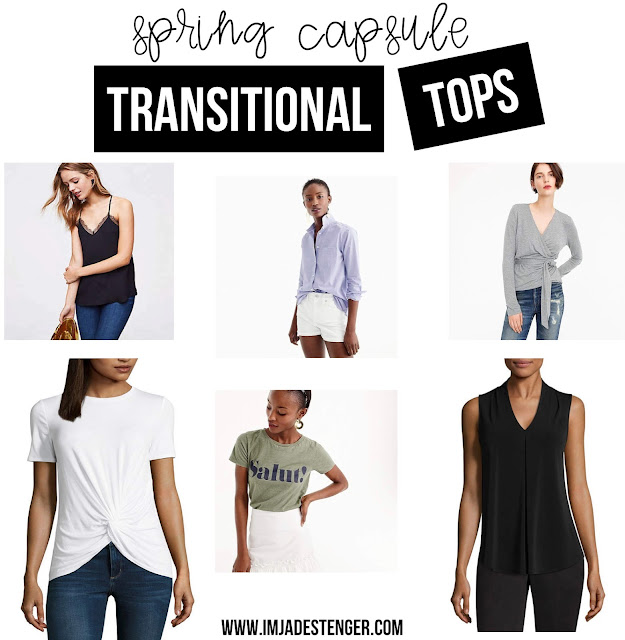 Get in my closet: Transitional Tops