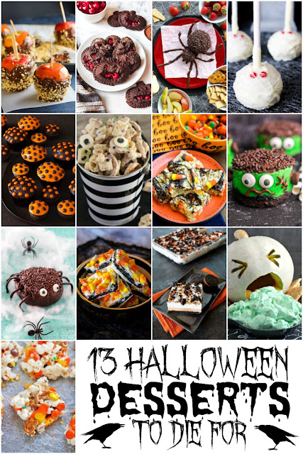These 13 Halloween Desserts to Die For would be the perfect addition to that upcoming Halloween party menu!