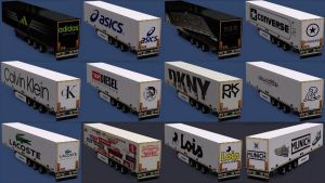 Brands of Clothes & Footwear Trailers Pack