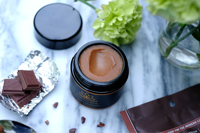 Holistic Green Beauty's Chocolate Cleansing Balm
