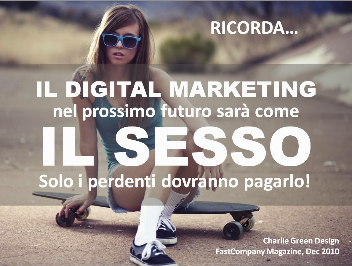 digital marketing è come il sesso