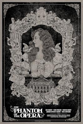 Timothy Pittides Phantom Of The Opera Poster Print