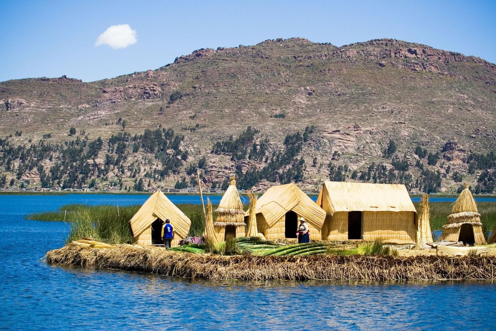 Lake Titicaca turns into kaku 16