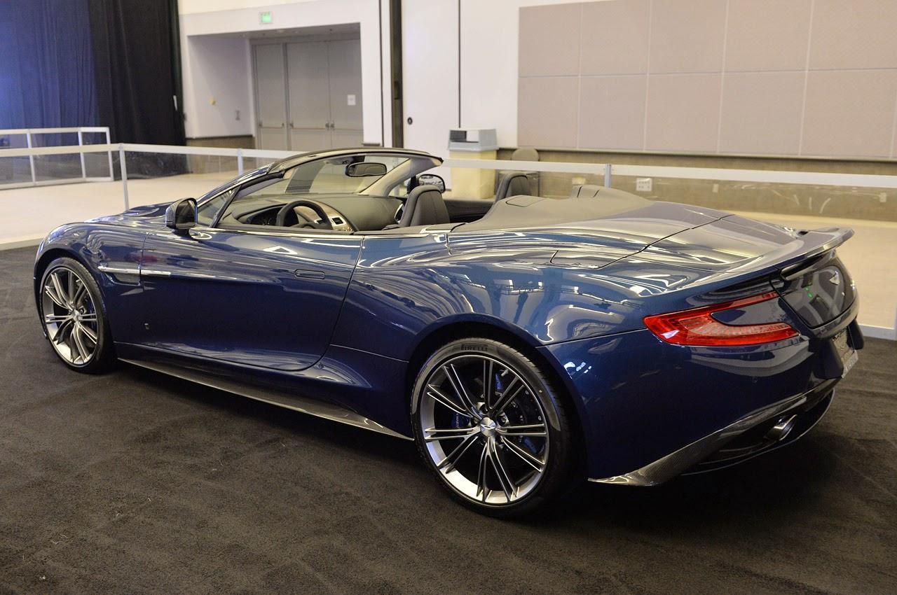 © Automotiveblogz: 2014 Aston Martin Vanquish Volante