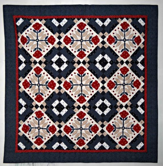 Curlicue Creations: Pioneer Rose Quilt : pioneer quilt patterns - Adamdwight.com