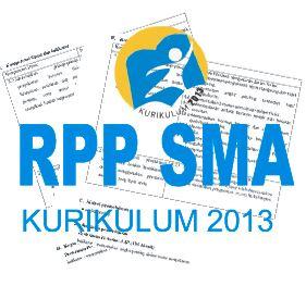RPP SMA Kurikulum 2013 Revisi terbaru