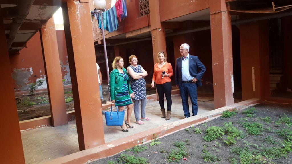 Ayuntamiento e instituto canario de la vivienda abordan - Vivienda puerto del rosario ...