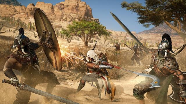 Inilah! Screenshot Resmi Assassin's Creed: Origins Dari Ubisoft, Kapan Rilisnya ? 27